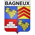 Bagneux 92 ville Stickers blason autocollant adhésif