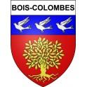 Bois-Colombes 92 ville Stickers blason autocollant adhésif