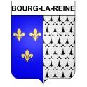 Bourg-la-Reine 92 ville Stickers blason autocollant adhésif