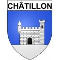 Châtillon 92 ville Stickers blason autocollant adhésif