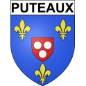 Stickers coat of arms Puteaux adhesive sticker