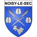 Stickers coat of arms Noisy-le-Sec adhesive sticker