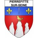 Stickers coat of arms Pierrefitte-sur-Seine adhesive sticker
