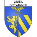 Stickers coat of arms Limeil-Brévannes adhesive sticker