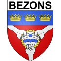 Stickers coat of arms Annecy adhesive sticker