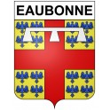 Stickers coat of arms Eaubonne adhesive sticker