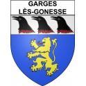Garges-lès-Gonesse 95 ville Stickers blason autocollant adhésif