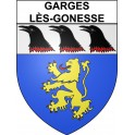 Stickers coat of arms Garges-lès-Gonesse adhesive sticker
