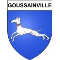 Goussainville 95 ville Stickers blason autocollant adhésif