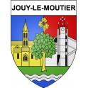 Jouy-le-Moutier 95 ville Stickers blason autocollant adhésif