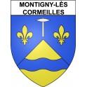 Montigny-lès-Cormeilles 95 ville Stickers blason autocollant adhésif