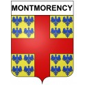 Montmorency 95 ville Stickers blason autocollant adhésif