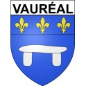 Stickers coat of arms Vauréal adhesive sticker
