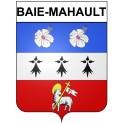 Baie-Mahault 97 ville Stickers blason autocollant adhésif