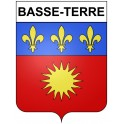 Basse-Terre 97 ville Stickers blason autocollant adhésif