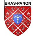 Bras-Panon 97 ville Stickers blason autocollant adhésif