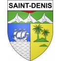 Stickers coat of arms Saint-Denis adhesive sticker