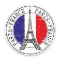 Paris logo 442 autocollant adhésif sticker