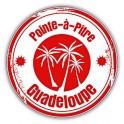 pointe pitre guadeloupe logo 536 autocollant adhésif sticker