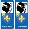 64 Pau sticker plate registration city