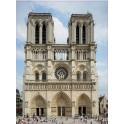Notre Dame de Paris logo 7654 autocollant adhésif sticker