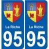 95 Wy-dit-Joli-Village stemma adesivo piastra adesivi città