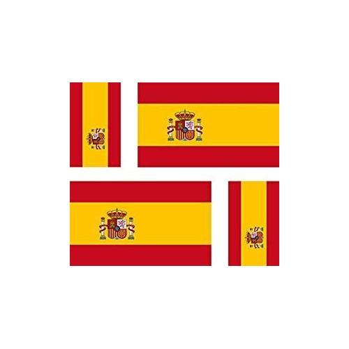 Sticker Flag of Spain Spain sticker flag