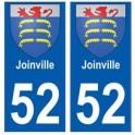 52 Joinville blason autocollant plaque stickers ville