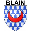 Stickers coat of arms Blain adhesive sticker