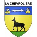 Stickers coat of arms La Chevrolière adhesive sticker