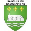 Stickers coat of arms Saint-Julien-de-Concelles adhesive sticker