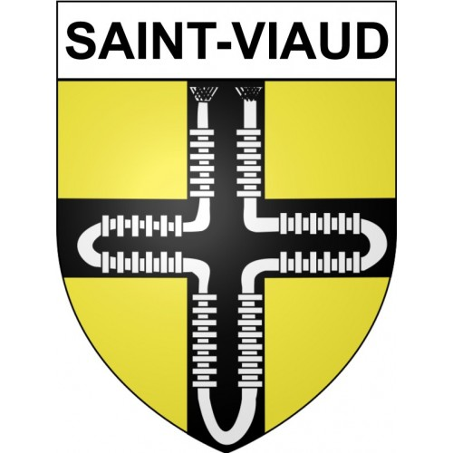 Stickers coat of arms Saint-Viaud adhesive sticker