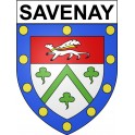Stickers coat of arms Savenay adhesive sticker