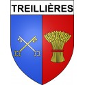 Stickers coat of arms Treillières adhesive sticker