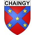 Stickers coat of arms Chaingy adhesive sticker