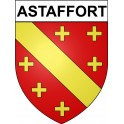 Stickers coat of arms Astaffort adhesive sticker
