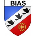 Stickers coat of arms Bias adhesive sticker