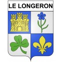 Stickers coat of arms Le Longeron adhesive sticker
