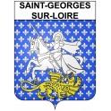 Stickers coat of arms Saint-Georges-sur-Loire adhesive sticker