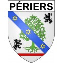 Stickers coat of arms Périersadhesive sticker