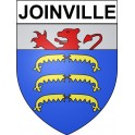 Stickers coat of arms Joinville adhesive sticker