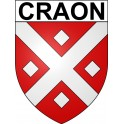 Stickers coat of arms Craon adhesive sticker
