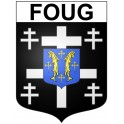 Stickers coat of arms Foug adhesive sticker