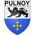 Stickers coat of arms Pulnoy adhesive sticker