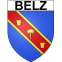Pegatinas escudo de armas de Belz adhesivo de la etiqueta engomada