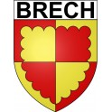 Stickers coat of arms Brech adhesive sticker