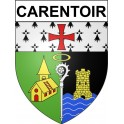 Stickers coat of arms Carentoir adhesive sticker