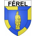 Stickers coat of arms Férel adhesive sticker