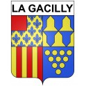 Stickers coat of arms La Gacilly adhesive sticker
