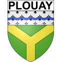 Stickers coat of arms Plouay adhesive sticker